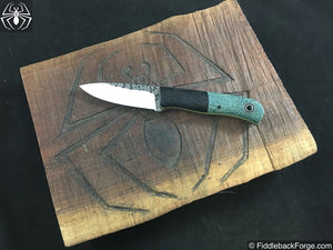 Fiddleback Forge Bushcrafter Jr. - Model Info - Fiddleback Forge Handmade Knife