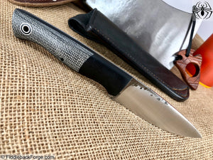 Fiddleback Forge Bushfinger - Model Info - Fiddleback Forge Handmade Knife