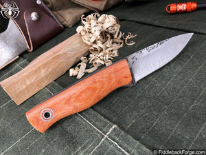 Fiddleback Forge Bushnub II - Model Info - Fiddleback Forge Handmade Knife