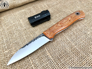 Fiddleback Forge Bushraptor - Model Info - Fiddleback Forge Handmade Knife