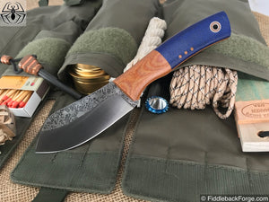 Fiddleback Forge Camp Muk - Navy Burlap