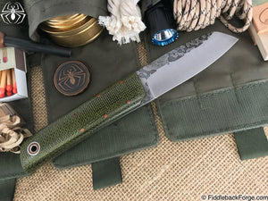Fiddleback Forge Chief - Evergreen Burlap