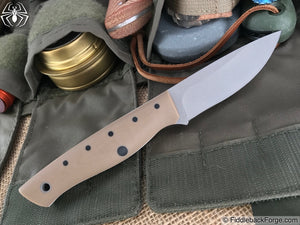 Dragonfly Blade Works Wanderer - Tan G-10