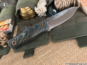 Fiddleback Forge Drop Point Maverick - Model Info - Fiddleback Forge Handmade Knife