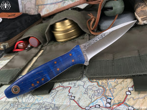Fiddleback Forge Garrote - Model Info - Fiddleback Forge Handmade Knife