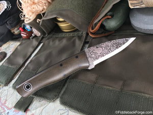 Fiddleback Forge ED Karda - Model Info - Fiddleback Forge Handmade Knife