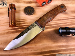 Fiddleback Forge Hunter - Model Info - Fiddleback Forge Handmade Knife