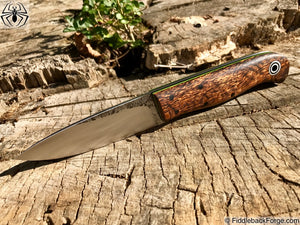 Fiddleback Forge KE Bushie - Model Info - Fiddleback Forge Handmade Knife