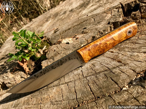 Fiddleback Forge Leuku - Model Info - Fiddleback Forge Handmade Knife