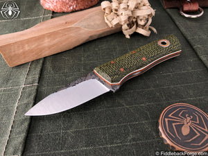 Fiddleback Forge Pocket Kephart - Model Info - Fiddleback Forge Handmade Knife