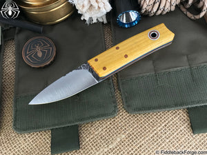 Fiddleback Forge Sgian Dubh - Model Info - Fiddleback Forge Handmade Knife
