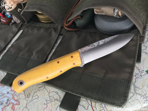 Fiddleback Forge Arete - Osage - Fiddleback Forge Handmade Knife