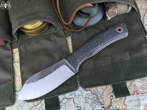 Fiddleback Forge Camp Muk - Oreo Burlap - Fiddleback Forge Handmade Knife