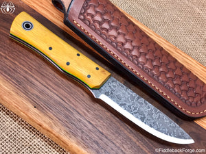 Fiddleback Forge Drop Point Renegade - Model Info - Fiddleback Forge Handmade Knife