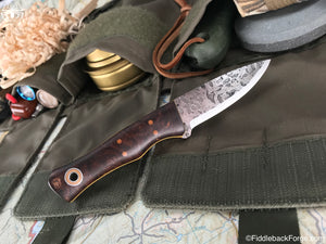 Fiddleback Forge Esquire - Model Info - Fiddleback Forge Handmade Knife