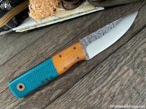 Fiddleback Forge Full Finger - Model Info - Fiddleback Forge Handmade Knife