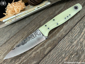 Fiddleback Forge Gaucho - Spearmint Jade G-10