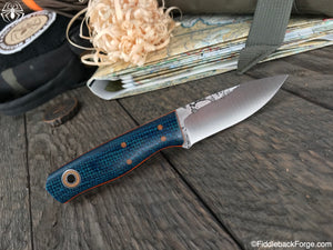 Fiddleback Forge Solo - Model Info - Fiddleback Forge Handmade Knife