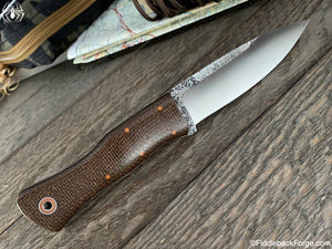Fiddleback Forge Gunstock Bushcrafter - Model Info - Fiddleback Forge Handmade Knife