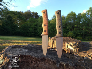 Fiddleback Forge Kephart - Mid-Tech Field Knife - S35VN - Fiddleback Forge - Mid-tech Production Knife