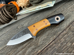 Fiddleback Forge Lil' Snowbill - Blackwood - Fiddleback Forge Handmade Knife