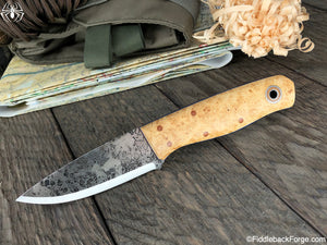 Fiddleback Forge Loner - Model Info - Fiddleback Forge Handmade Knife