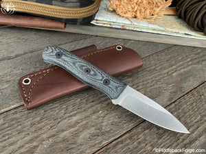 Fiddleback Forge Hiking Buddy - Mid-Tech Field Knife - S35VN