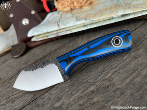 Fiddleback Forge Neckmuk - Black/Blue G-10