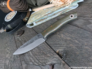 Fiddleback Forge Old School Ladyfinger - OD Canvas