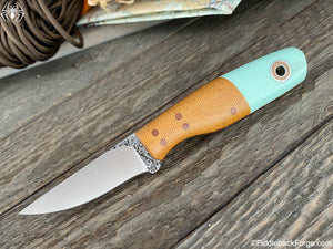 Fiddleback Forge Paring Knife - Model Info - Fiddleback Forge Handmade Knife