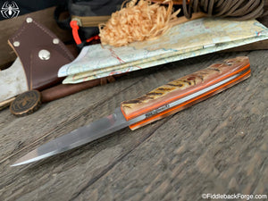 J.B. Knifeworks Perfect Hunter - 52100 - Ram's Horn
