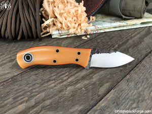 Fiddleback Forge Runt - Bone Micarta