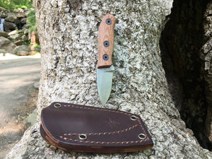 Fiddleback Forge Runt - Mid-tech Field Knife - S35VN - Fiddleback Forge - Mid-tech Production Knife
