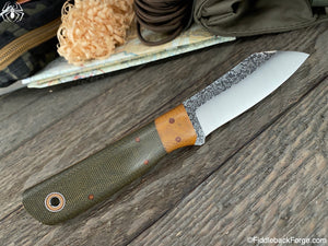 Fiddleback Forge Shogun - Model Info - Fiddleback Forge Handmade Knife
