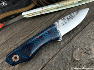 Fiddleback Forge Snowbill - Model Info - Fiddleback Forge Handmade Knife