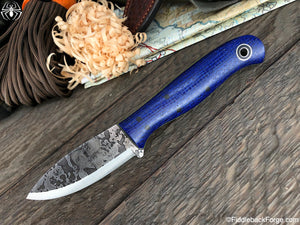 Fiddleback Forge Toboggan - Blue Burlatex - SCANDI