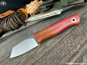 "Fiddleback Forge ""One Off"" Utility Finger - Fire Dog Micarta"