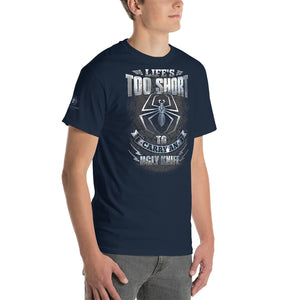 Fiddleback Forge T-Shirt - Life's Too Short - Classic Fit - Men's - Fiddleback Forge - Apparel Apparel