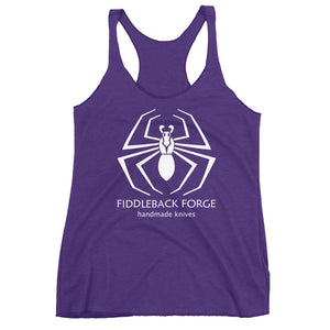 Fiddleback Forge Logo Tank Top - Racerback - Women's - Fiddleback Forge - Apparel Apparel