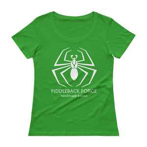 Fiddleback Forge Logo T-Shirt - Sheer Scoopneck - Women's - Fiddleback Forge - Apparel Apparel
