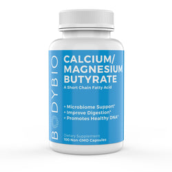 Calcium Magnesium Butyrate Supplement 100 Capsules