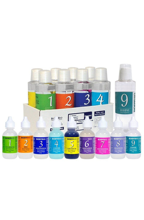 MTK plus - Liquid Minerals Test Kit set of 1-9