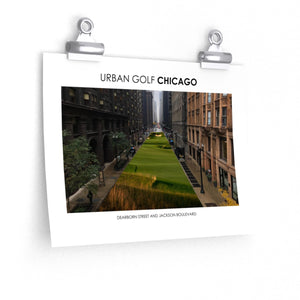 Urban Golf Chicago - Dearborn Street and Jackson Boulevard