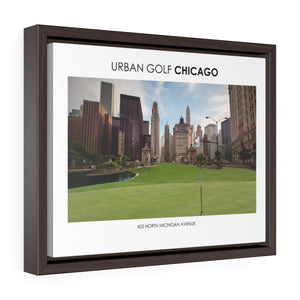 425 North Michigan Avenue - Framed Premium Gallery Wrap Canvas
