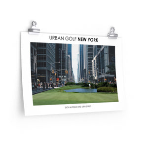 Urban Golf New York - Sixth Avenue and 54th Street