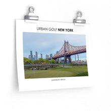 Load image into Gallery viewer, Urban Golf New York - Queensboro Bridge
