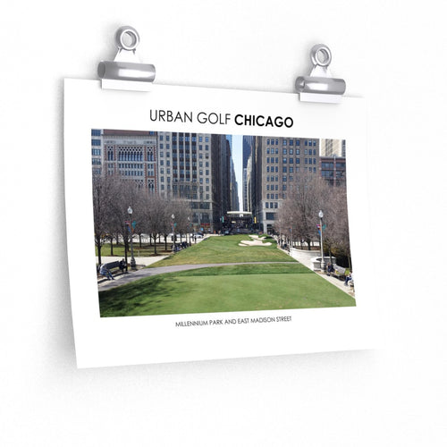 Urban Golf Chicago - Millennium Park and East Madison Street