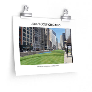 Urban Golf Chicago - Michigan Avenue and Monroe Street