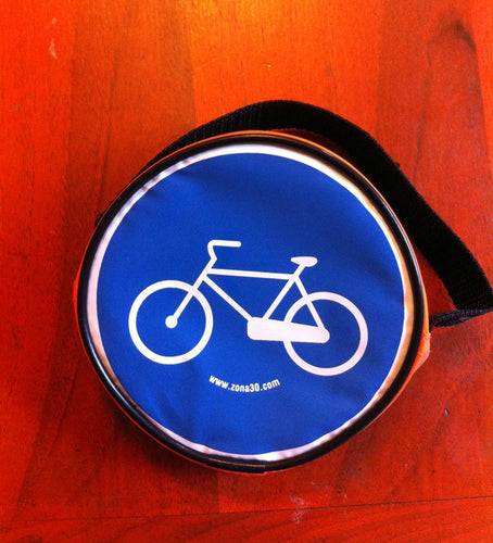 reflective 13cm bike purse