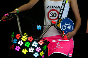 reflective 20cm bike handbag